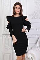 Женское коктейльное платье большие размеры, фото 1