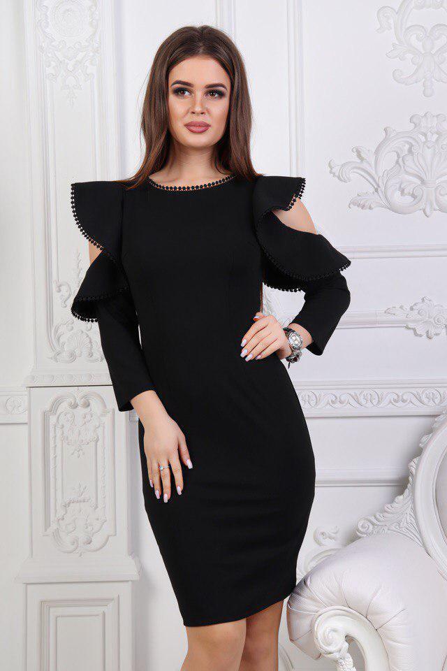 Женское коктейльное платье большие размеры