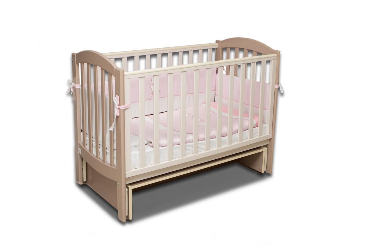 Детская кроватка Верес Соня ЛД10 капучино (10.1.1.1.10)