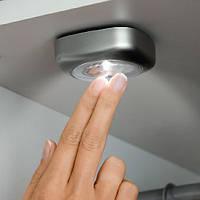 Светильники светодиодные накладные Тач Он 3 шт. в упаковке, фото 1