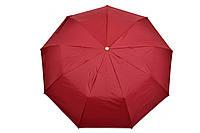 Зонт однотонный вишневый