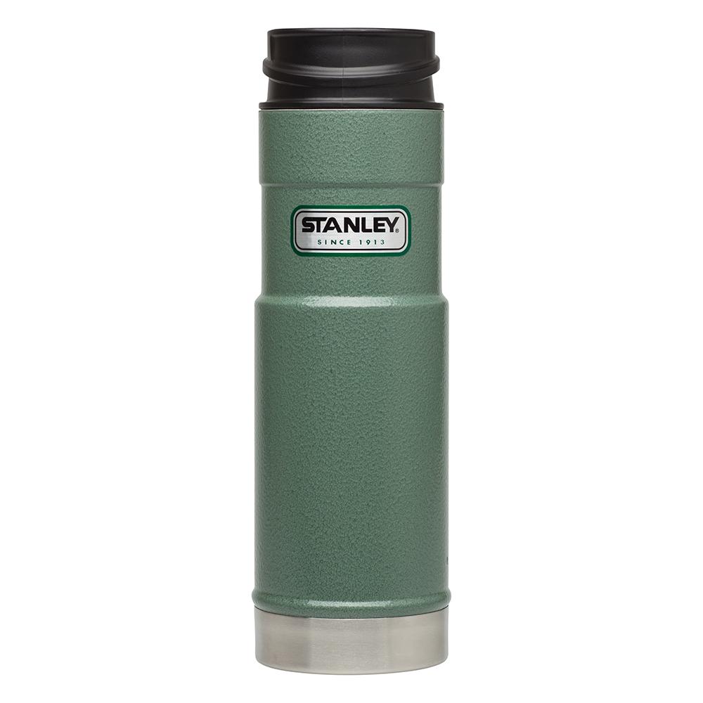 Термочашка Stanley Classic One Hand 0.47 л, зелена