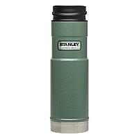 Термочашка Stanley Classic One Hand 0.47 л, зелена, фото 1