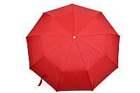 Зонт однотонный красный