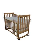 Детская кроватка Верес соня ЛД12 120*60 бук