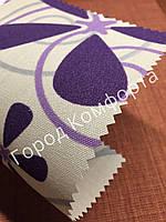 Ткань для рулонных штор Квіти 5236/2, фото 1