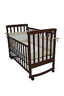 Детская кроватка Верес соня ЛД12 120*60 орех