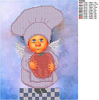 Схема для вышивки бисером Поваренок Перчик