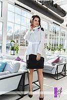 Женское платье рубашкой большие размеры, фото 1