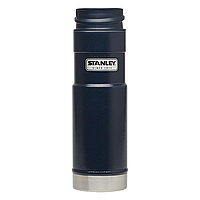 Термочашка Stanley Classic One Hand 0.47 л, синяя, фото 1