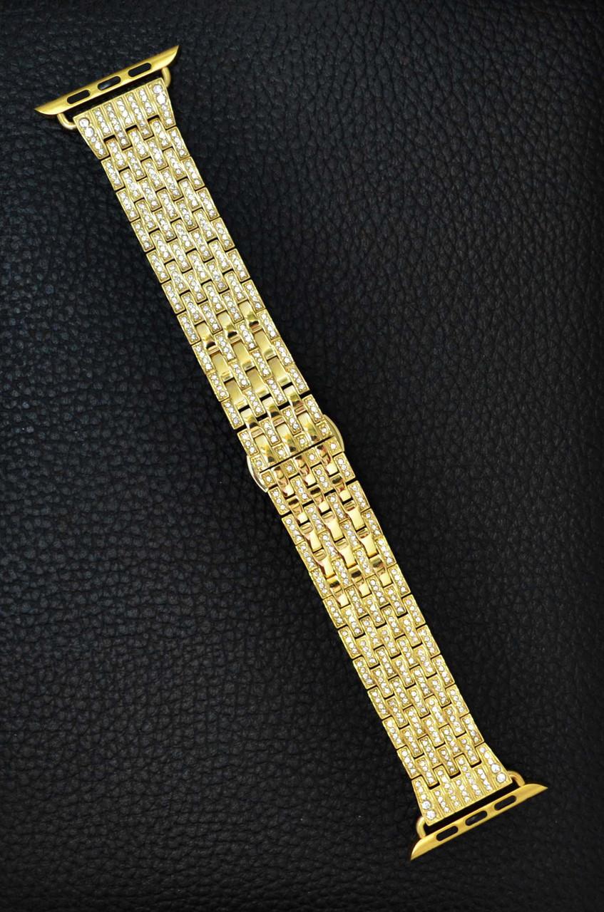 Ремешок Apple Watch Crystal 42 mm Золотой