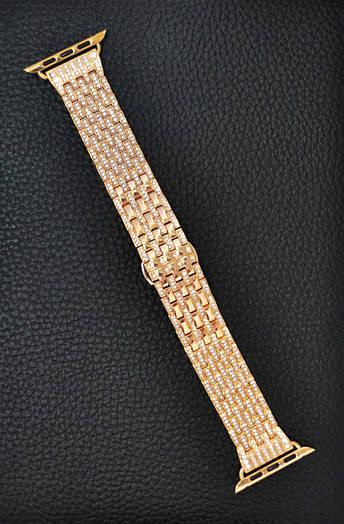 Ремешок Apple Watch Crystal 42 mm Золотой 2