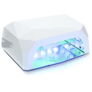 УФ CCFL+LED гибридная лампа для ногтей 36W Diamond(белая)
