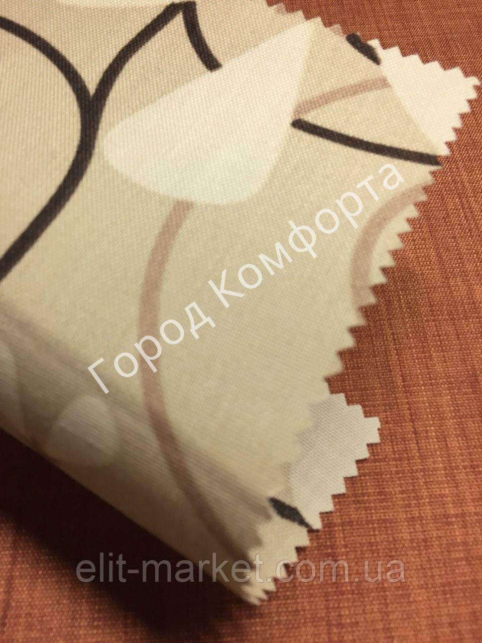 Ткань для рулонных штор Квіти 5236/1