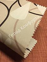 Ткань для рулонных штор Квіти 5236/1, фото 1