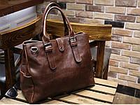 Мужская кожаная сумка. Модель 63205, фото 2
