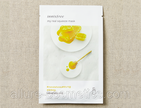 Innisfree My real squeeze mask мед