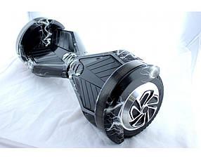 Гироборд гироскутер Smartway 8 дюймов ЧернаяМолния с подсветкой колес ( smart board, сигвей)+ПУЛЬТ В КОМПЛЕКТЕ