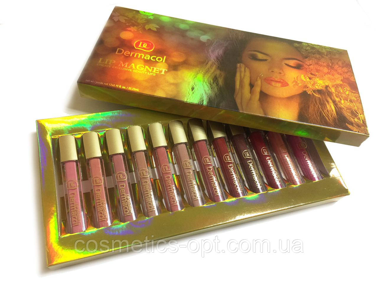 Жидкая матовая помада Dermacol Lip Magnet Create Exclusive Beauty (реплика)