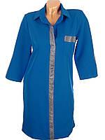 Стильное платье оверсайз 46-52 (в расцветках), фото 1