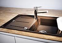 Фрагранитная кухонная мойка Franke Impact IMG 611 114.0502.873 шоколад, фото 1