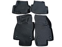 Полиуретановые коврики в салон автомобиля LadaLocker ТЭП Audi A4 (B8) sd (07-)3D