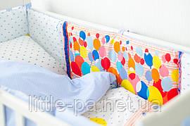 """Комплект детского постельного белья 120х60 см  """"Водушные шарики"""""""