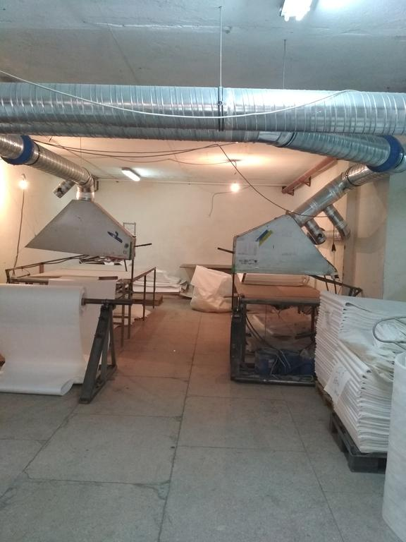 Монтаж местной вытяжной вентиляции в производственном цеху