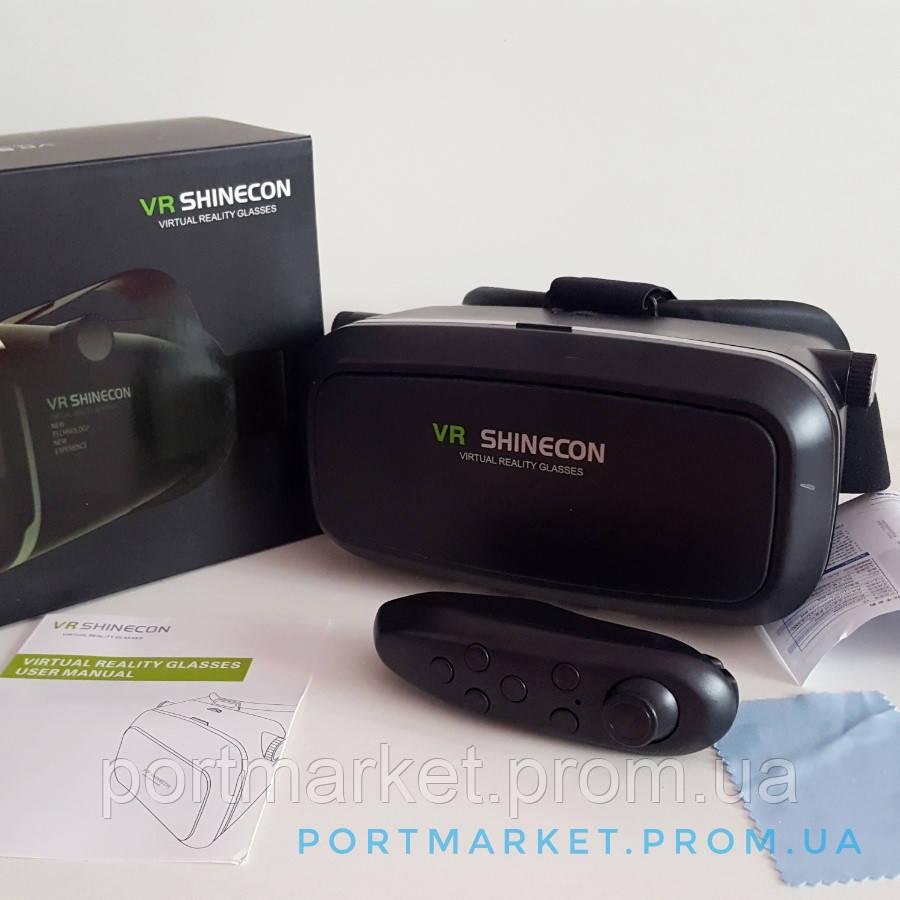 VR SHINECON c пультом/3D очки виртуальной реальности