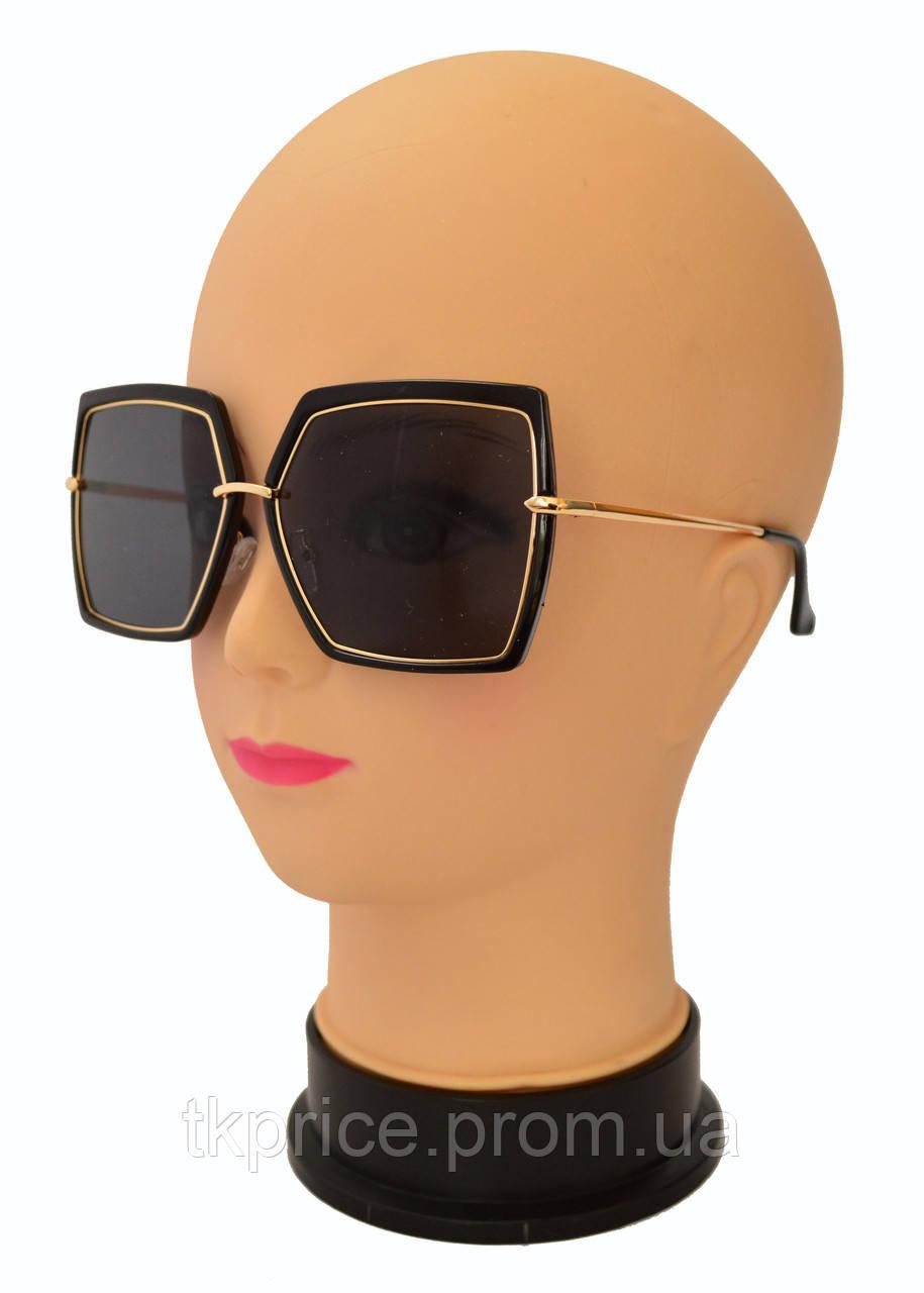 Квадратные женские стильные солнцезащитные очки  Aedoll 899