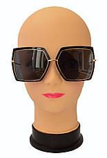 Квадратные женские стильные солнцезащитные очки  Aedoll 899, фото 2