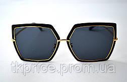 Квадратные женские стильные солнцезащитные очки  Aedoll 899, фото 3
