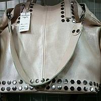 Большая кожаная сумка женская