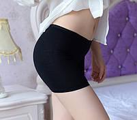 Жіночі панталони короткі шортики бамбук, фото 4