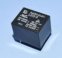 Реле   5V 1группа  LEG-5 (=JQC-3F-1C) (10А 240V) 5pin on-on  Rayex
