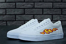 Мужские кеды Vans Old Skool Art Flame, Ванс Олд Скул, фото 2