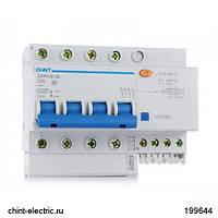 Диф. автомат DZ47LE-32 4Р 32А 30мА тип АC х-ка С 6кА (CHINT)
