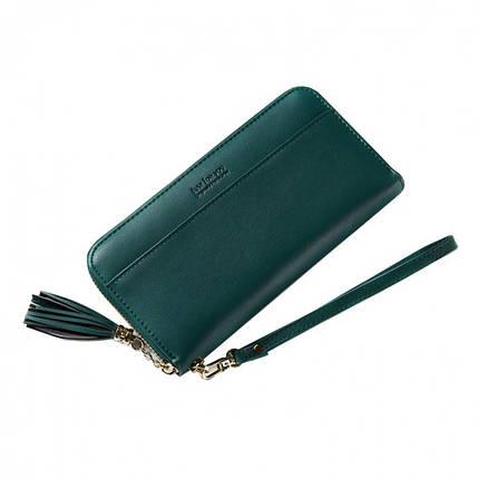 Кошелёк женский Amelie Adele зелёный eps-4015, фото 2