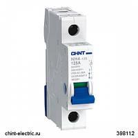 Выключатель нагрузки NH4 4Р 80А (R) (CHINT)