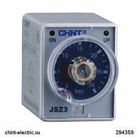 Реле времени JSZ3C-B многодиапазонная задержка включения с мгновенным срабатыванием 0,1-1/10/60s/6min AC220V (CHINT)