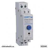 Реле времени NTE8-120A (задержка времени выключения) 10-120с, 1НО, AC24B (CHINT)