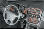 Alfa Romeo Spider/GTV 1995-2005 гг. Декор на панель Алюминий