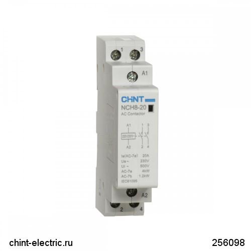 Контактор модульный NCH8-40/40 40А 4НО АС24В 50Гц (CHINT)