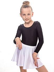 Юбка детская для танцев БЕЛАЯ
