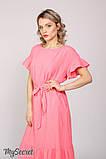 """Платье для беременных и кормящих """"ZANZIBAR"""", ярко-розовое, фото 6"""