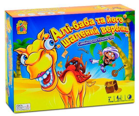 Настольная игра Али-баба и его бешенный верблюд Fun Game
