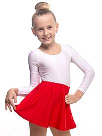 Дитяча спідниця для танців ЧЕРВОНА