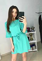 Платье J-1098 с поясом, фото 1