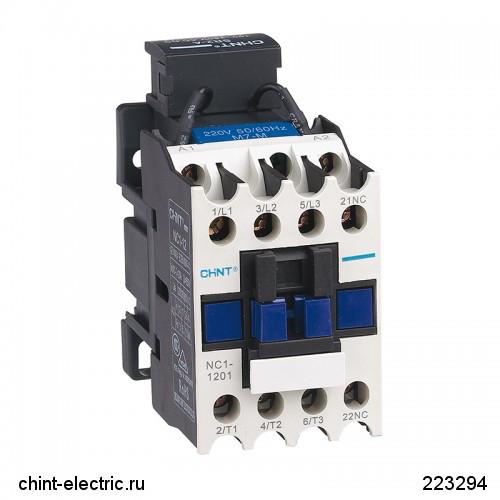 Контактор NC1-1210 12А 230В/АС3 1НО 50Гц (CHINT)