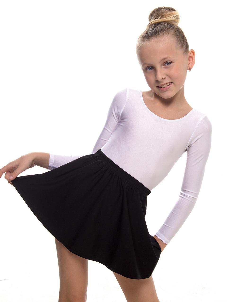 Юбка для гимнастики и хореографии ЧЕРНАЯ